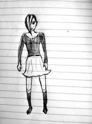 Random Sketch by webhead9707