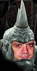 Quick concept of Paul Giamatti as Rhino. by webhead9707