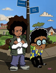 Growing Up Black In The Suburbs by FallRiverFunnies
