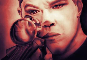 Matt Damon by armonnika