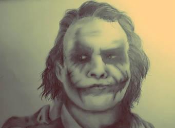 Joker The dark knight by armonnika