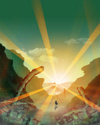 Wanderer by Caleb5Wolf