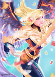 Kayle + Mercy by Caleb5Wolf