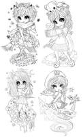 TinierMe Chibis! by Exrael