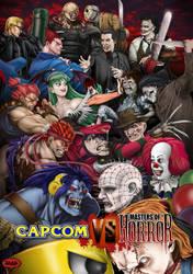 Capcom vs Masters of horror by jeep974