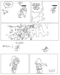 A Comic About Nidalee by Treelub