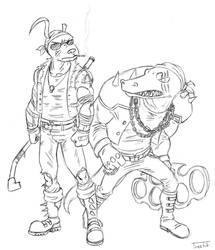 LoL_SKINS: Vandal Gator-Nasus by Treelub