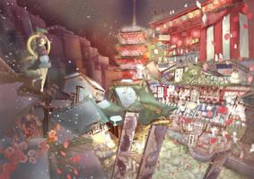 new year dream by omiomikekyu