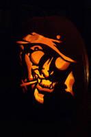 Hellsing pumpkin by semie