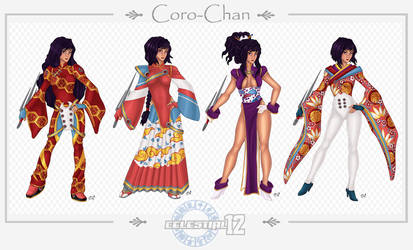 Coro Chan . Outfits by Opal-I
