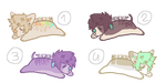 (don't fav) OPEN Canines adopts (100 each) by PockyPoints