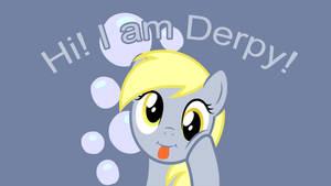 Hi! I am Derpy! - Wallpaper by P3r0
