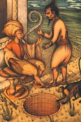 ilustracion khemir 6 by Atanasio