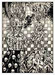 ilustracion para Karmapolice by Atanasio
