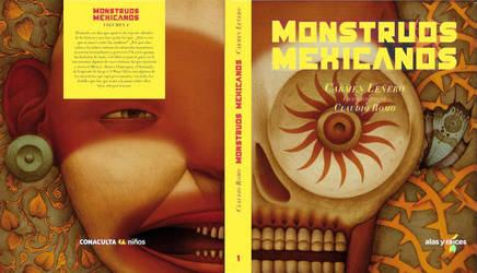 portada de MONSTRUOS MEXICANOS by Atanasio