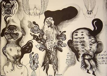 anatomia antropofaga by Atanasio