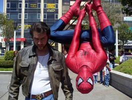 Wolverine Spider Man by Kryptoniano