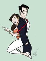 Luisa y clark by Kryptoniano