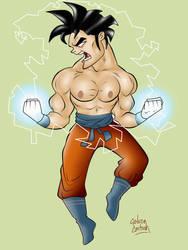 Goku by Kryptoniano