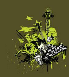 Art Revolution by Fico-Ossio