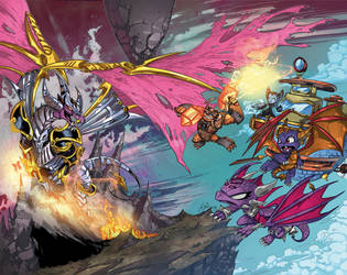 The return of The Dragon King Wrap Cover by Fico-Ossio
