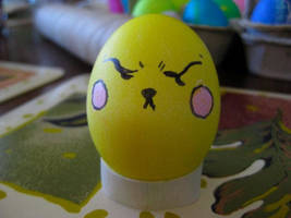 Pika-egg is not amused by Blitzkrieg1701