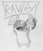 Patamon: Warrior Mascot by Blitzkrieg1701