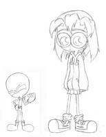 A Girl and Her Alien by Blitzkrieg1701