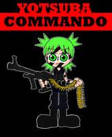 COMMANDO starring Yotsuba by Blitzkrieg1701