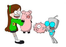 OH MY GOSH, A PIG! by Blitzkrieg1701