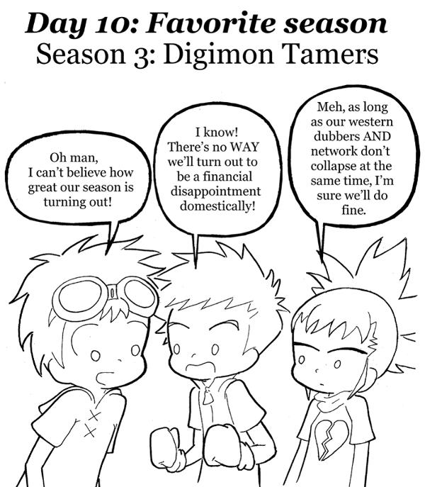 30 Day Digimon Challenge - day 10 by Blitzkrieg1701