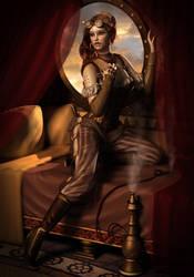 steampunk girl by sara353