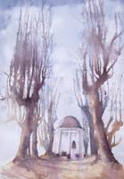 kapliczka w Trzebnicy inaczej by modliszqa