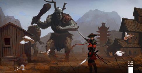 Troll Slayer by Du1l