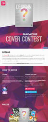 Designn Magazine Contest (Custom Journal Skin) by UJz