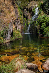 Mizarela Waterfall by Peug