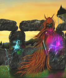 Cromlech evil fairy by AlanusRex