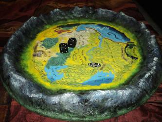 Dice plate - Sorcery ! - 2 by AlanusRex
