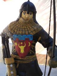 Moldavian heavy archer - crest detail by AlanusRex