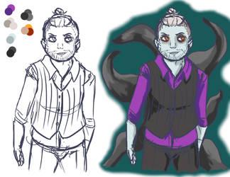 Character Design - Folo Hale by bauscheusse