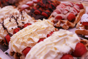 Belgian Waffles by maruschaesque