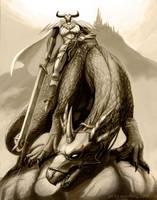 Dragon Knight by mayshing