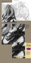PRocess-Dragon knight by mayshing