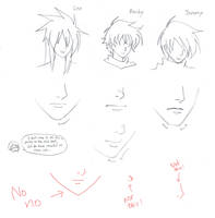 model sheet-nose and mouth1 by mayshing