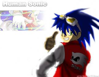 sonic human by mayshing