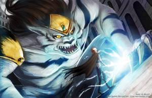 Man VS Beast by mayshing
