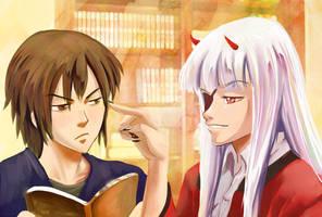 Kiribian- Robin and Tarol by mayshing