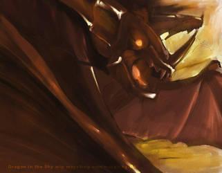 wip dragons by mayshing