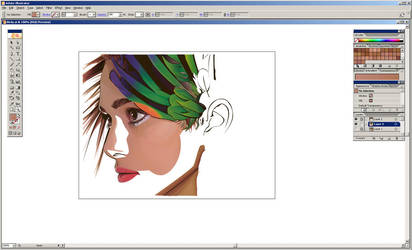 keira in progress by Colourfool