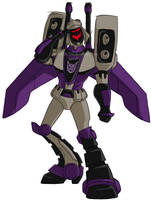 A Salute To Blitzwing by bit121788